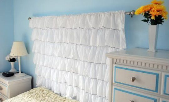 A New Headboard by Bedtime: 12 Unusual & Affordable DIY Headboard Ideas   Apartment Therapy