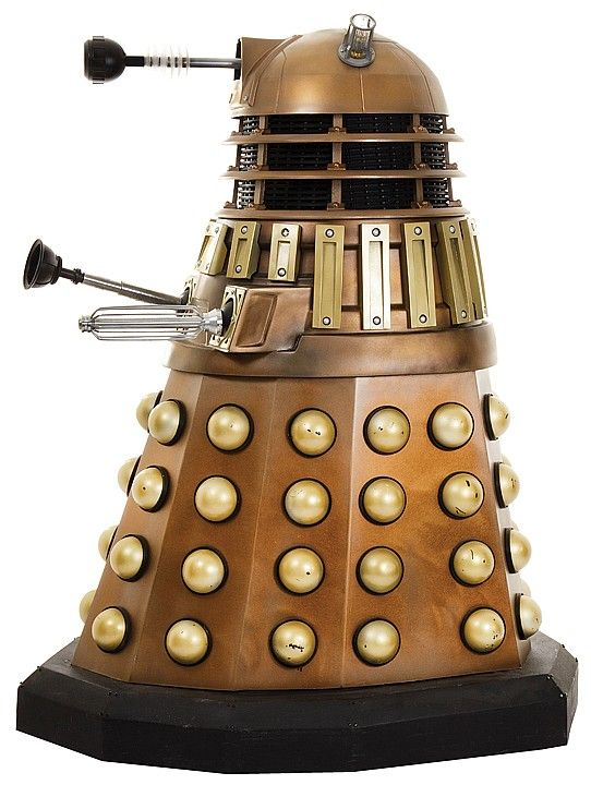 David Tennant-era bronze Dalek replica from Dr. Wh - by ...