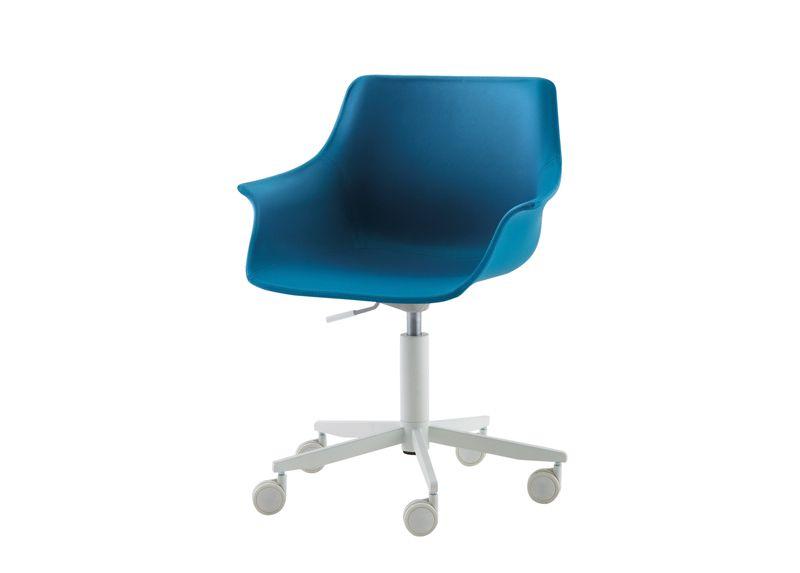 Nidi   Leaf Upholstered Swivel Desk Chair Kids Desk Chairs Wonderful