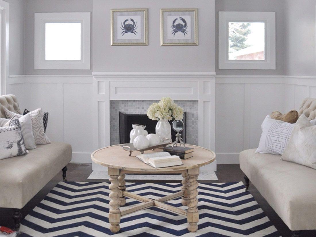 Portfolio Page Wainscoting, Living room, Room