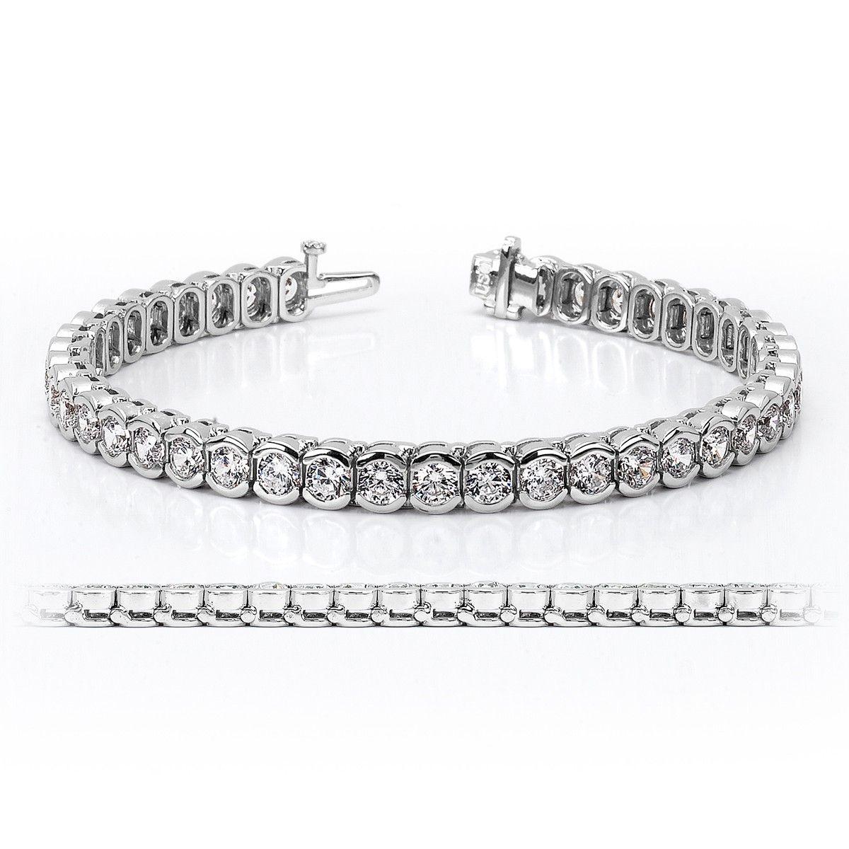 Pb11012 Tennis Bracelet Diamond Bracelet Collection Gold Bracelet