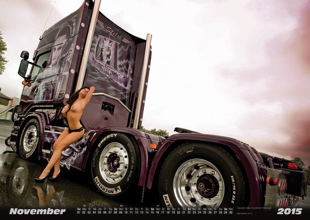 trucker kalender kalender. Black Bedroom Furniture Sets. Home Design Ideas