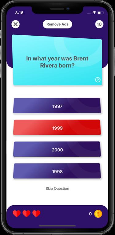 Tikquiz Quiz Trivia Game For Tiktok Source Code Tiktok Game Ios By Apps4world Ad Trivia Affiliate Game Tikquiz Qui Trivia App Trivia Trivia Games