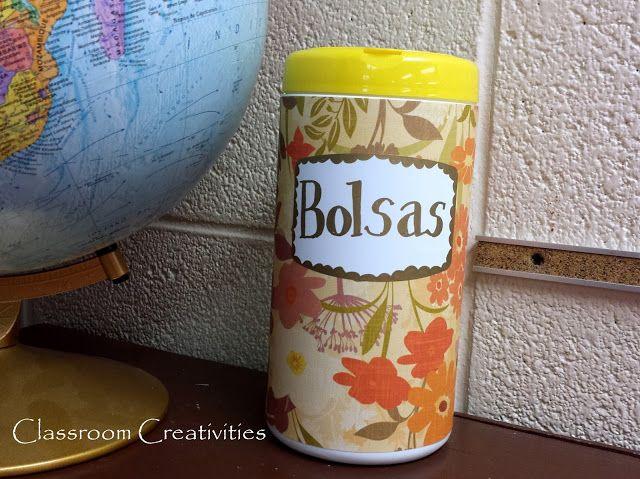 Classroom Creativities: Pinterest Project: Bag Holder