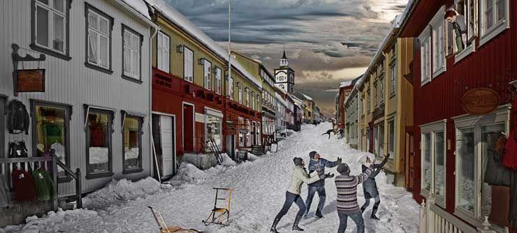 The old mining town of Røros, Norway - Photo: Tom Gustavsen