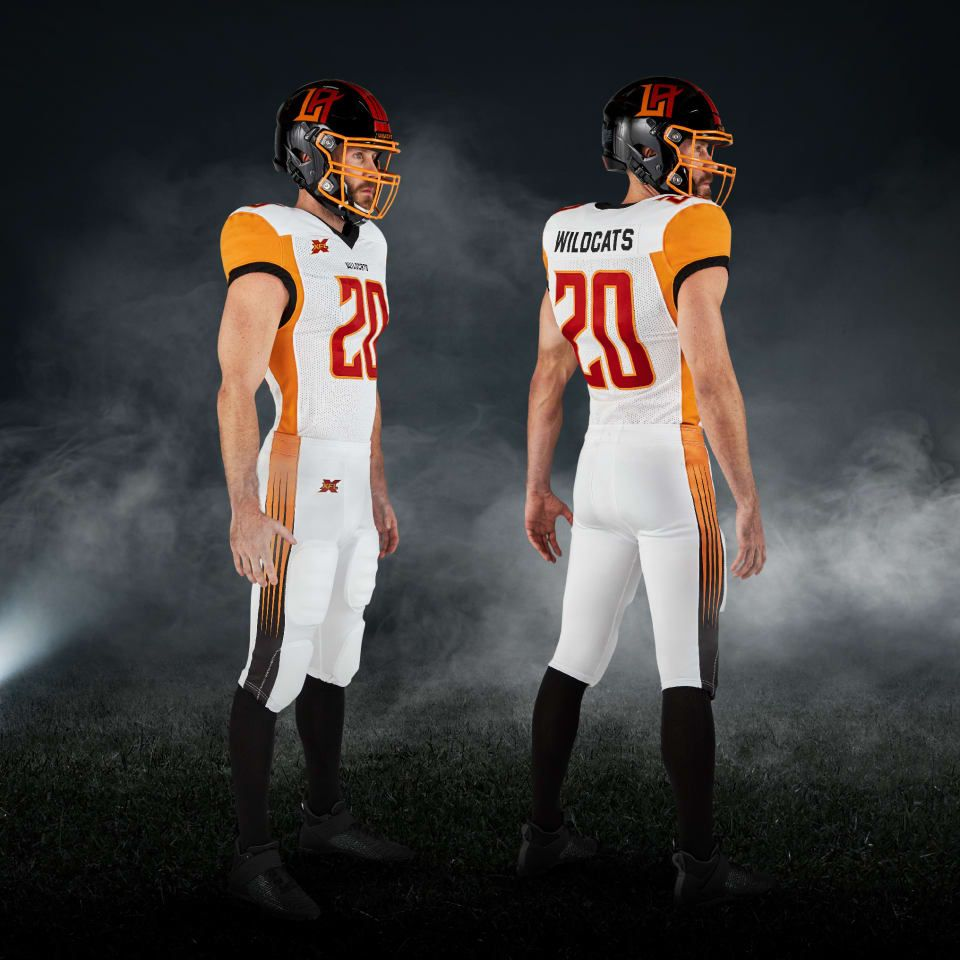 Xfl 2020 Los Angeles Wildcats Away Uniforms Xfl Football College Football Uniforms Xfl Teams