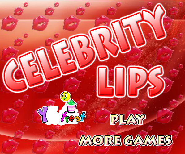 Play Celebrity Lips Game
