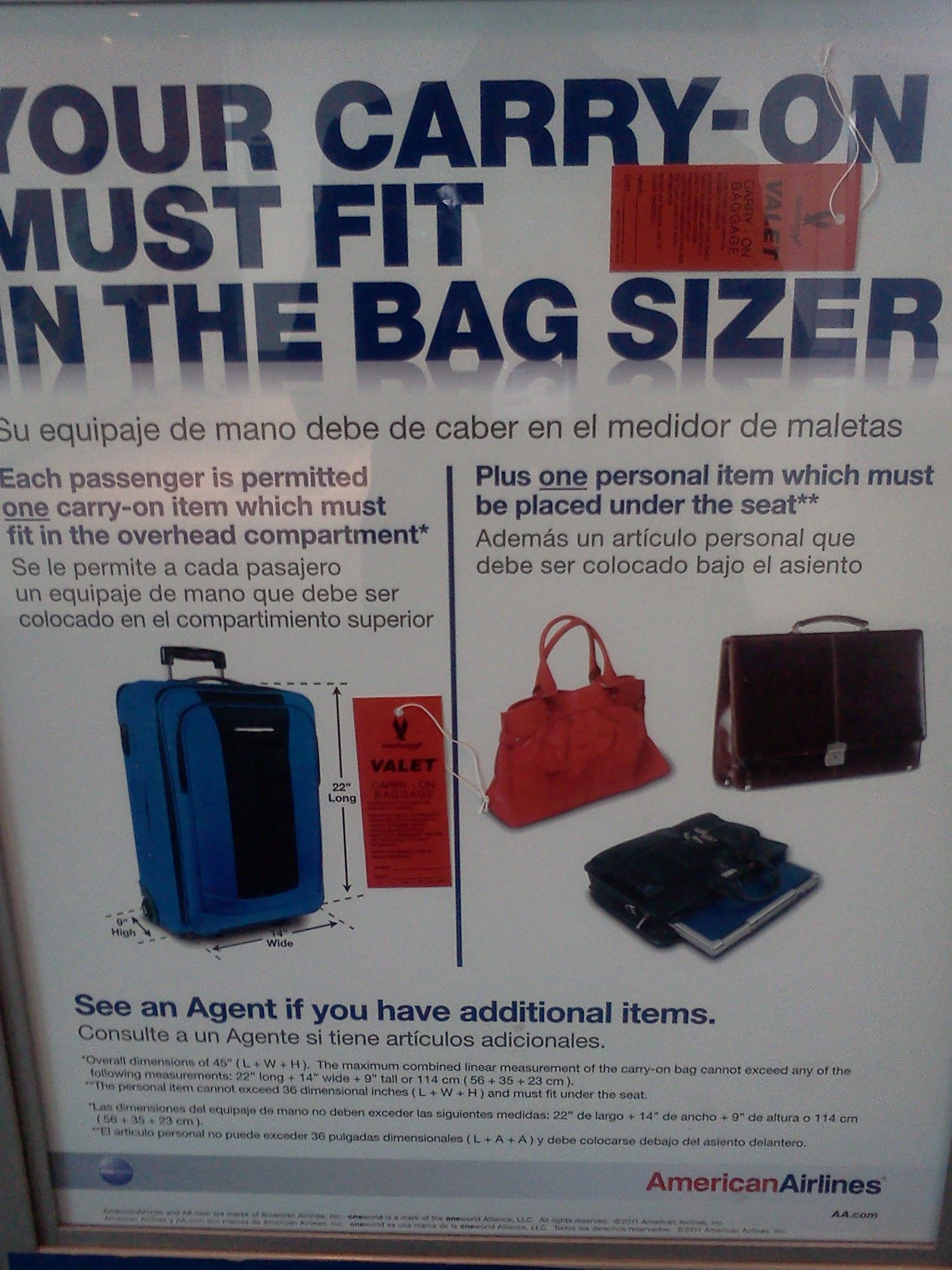 Carry On Bags Valet Check American Eagle Airlines What Is