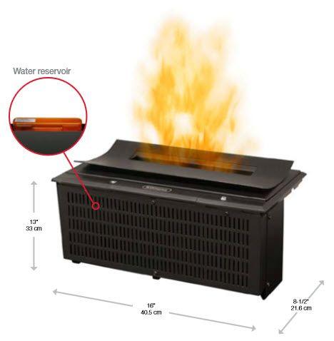 16 Dimplex Opti Myst Cassette Fireplace Insert Dfi400ch Dimplex