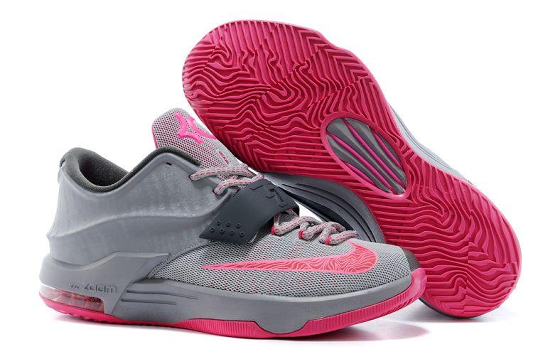 Legimate Nike Kd 7 Texas Silver Team Orange TopDeals