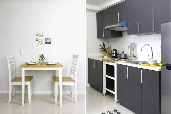 A Homey Minimalist Look For A 36sqm Studio Unit Condo Interior Design Condo Interior Condo Design