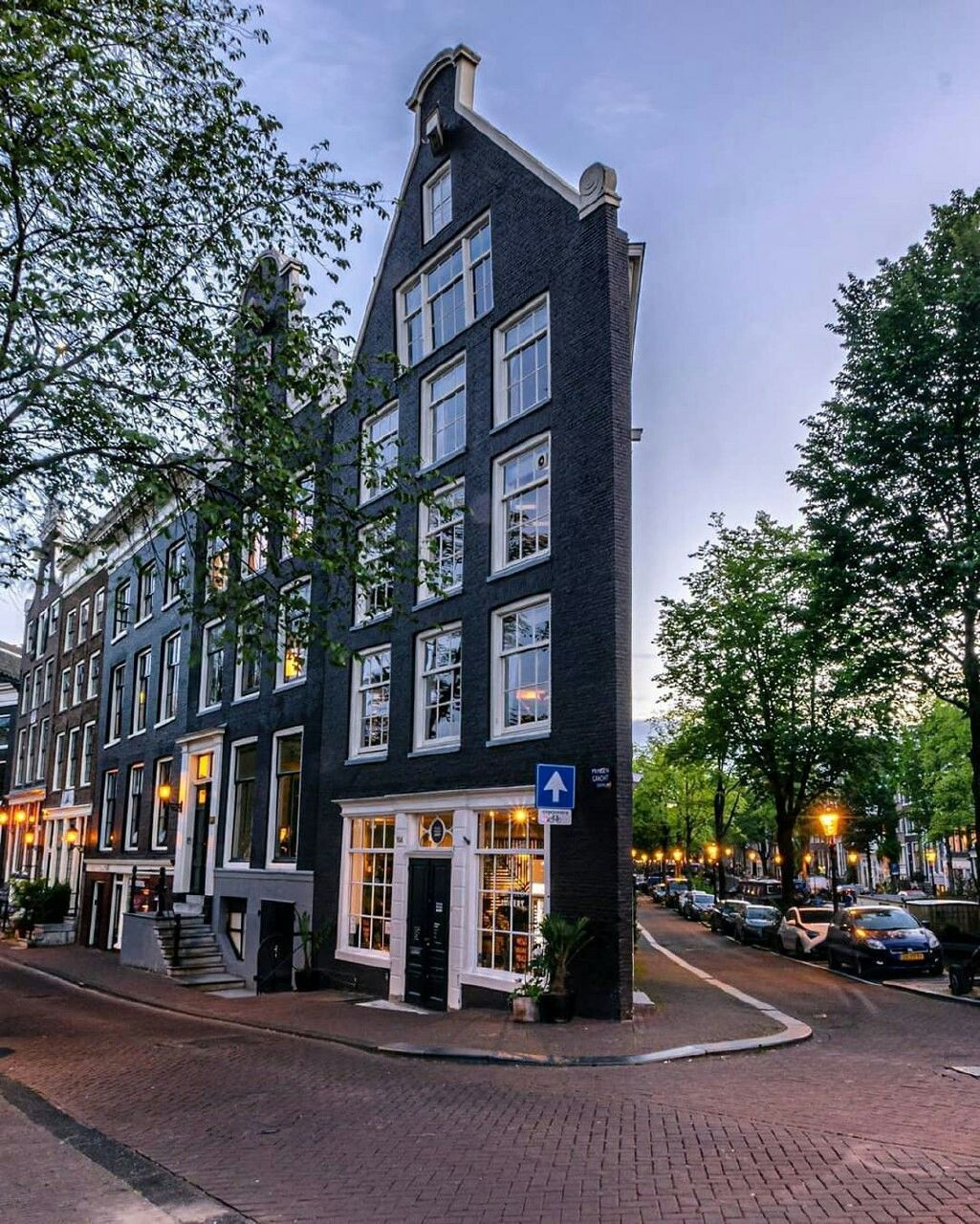 Amsterdam is the netherlands capital known for its