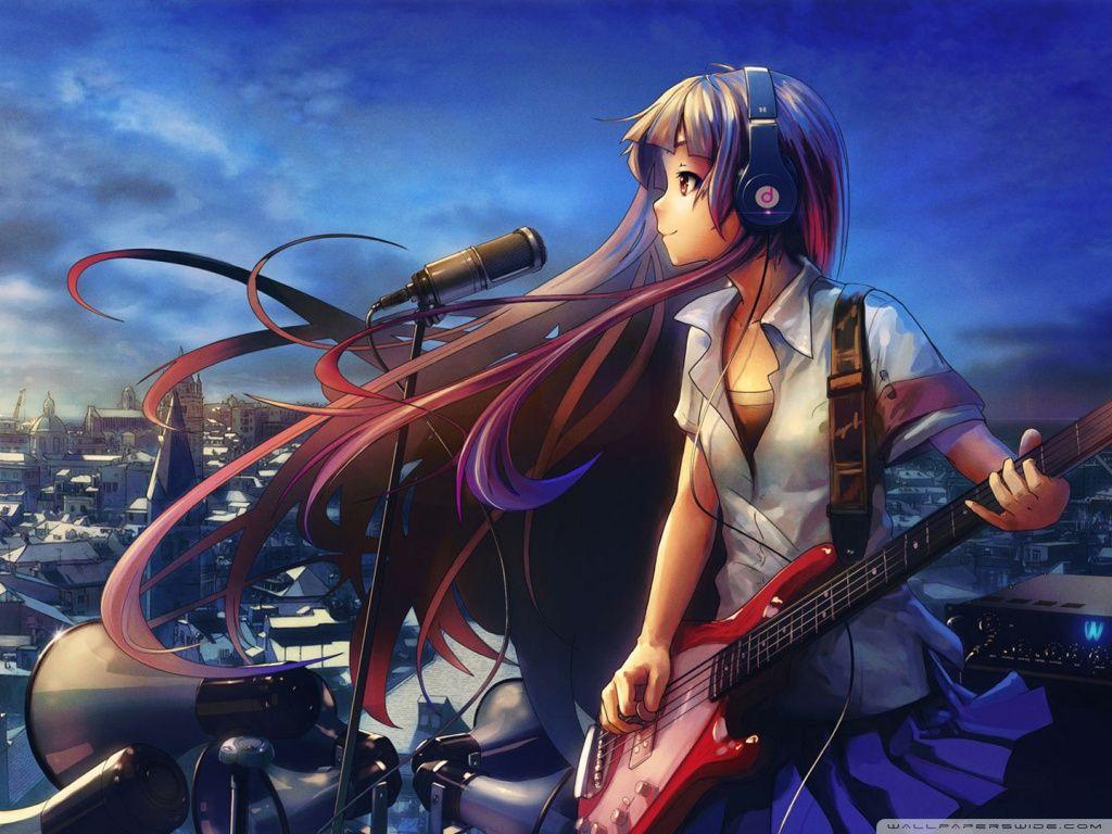 Anime Music Is My Life And Soul Music Wallpaper Anime Music Anime