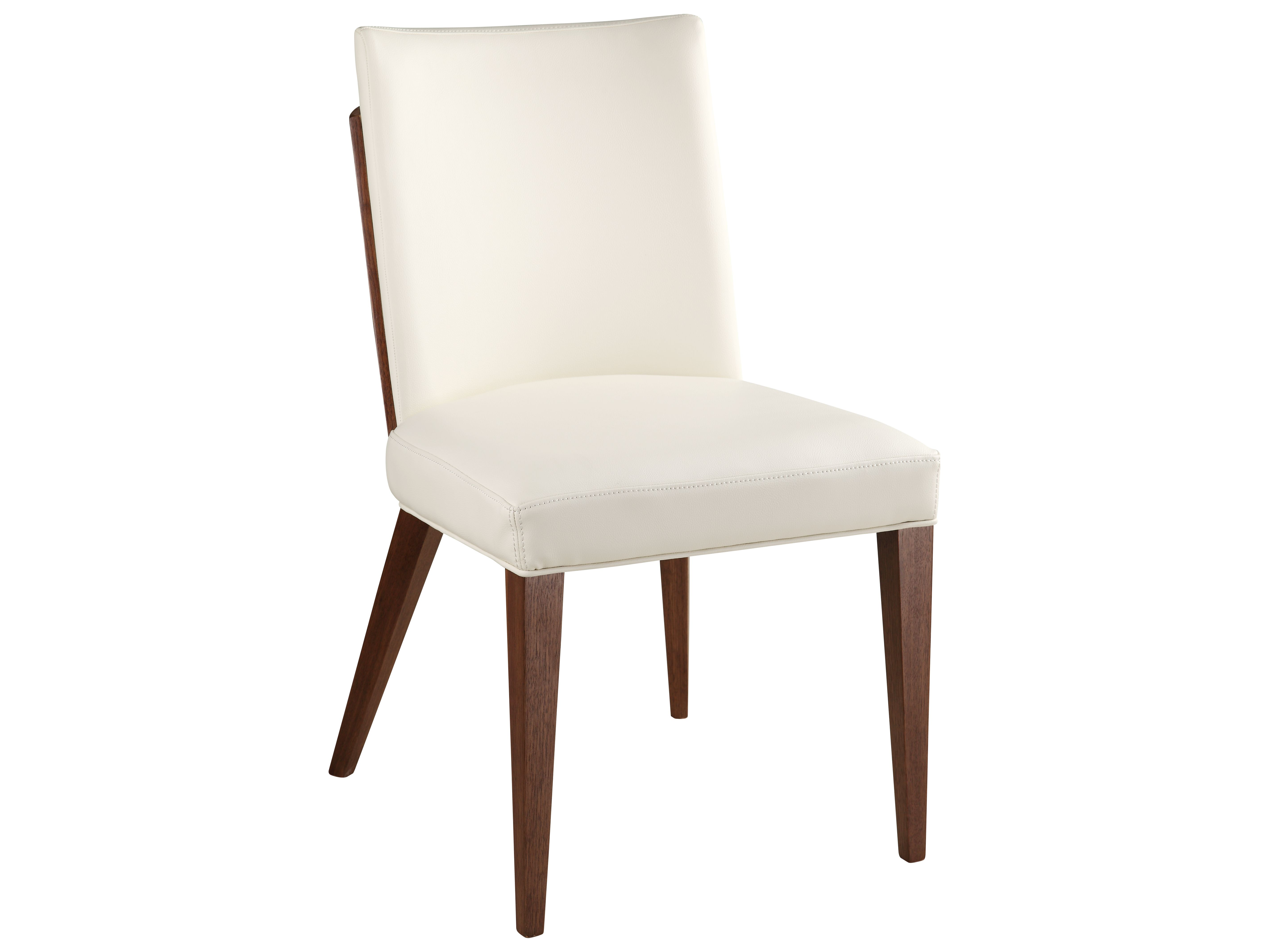 Moes home collection copenhagen white dining chair with solid birch wood legs sold in 2