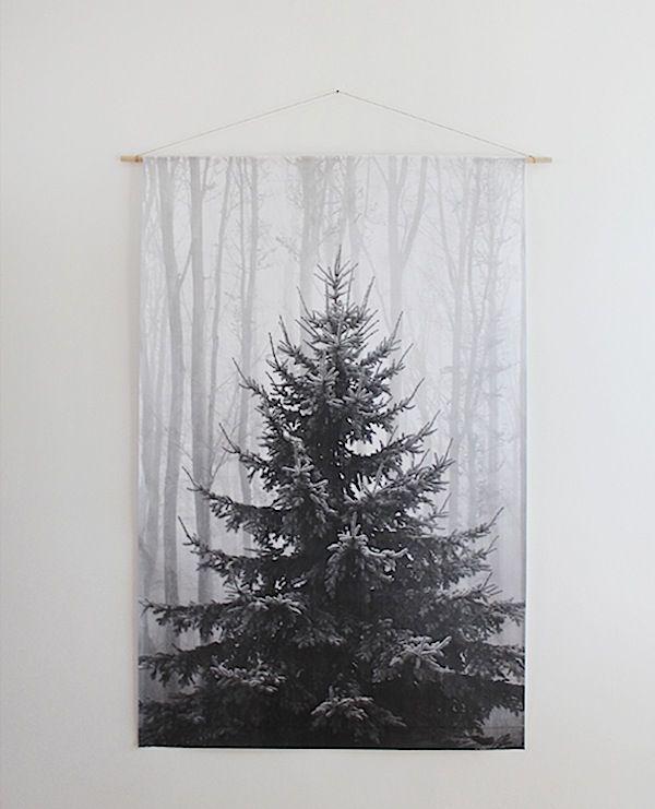 A Virtual Christmas Tree Brought To Life 2modern Blog Diy Christmas Tree Christmas Diy Christmas Tree
