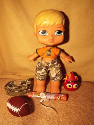 BIG-BABY-BRATZ-VERY-RARE-CAMERON-13-BOY-DOLL-WITH-ACCESSORIES sold for £25.00 £6.00 delivery