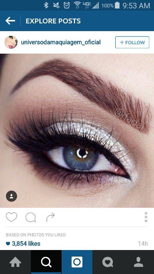 Pin By Brianna Jimenez On Beautiful Make Up Prom Eye Makeup