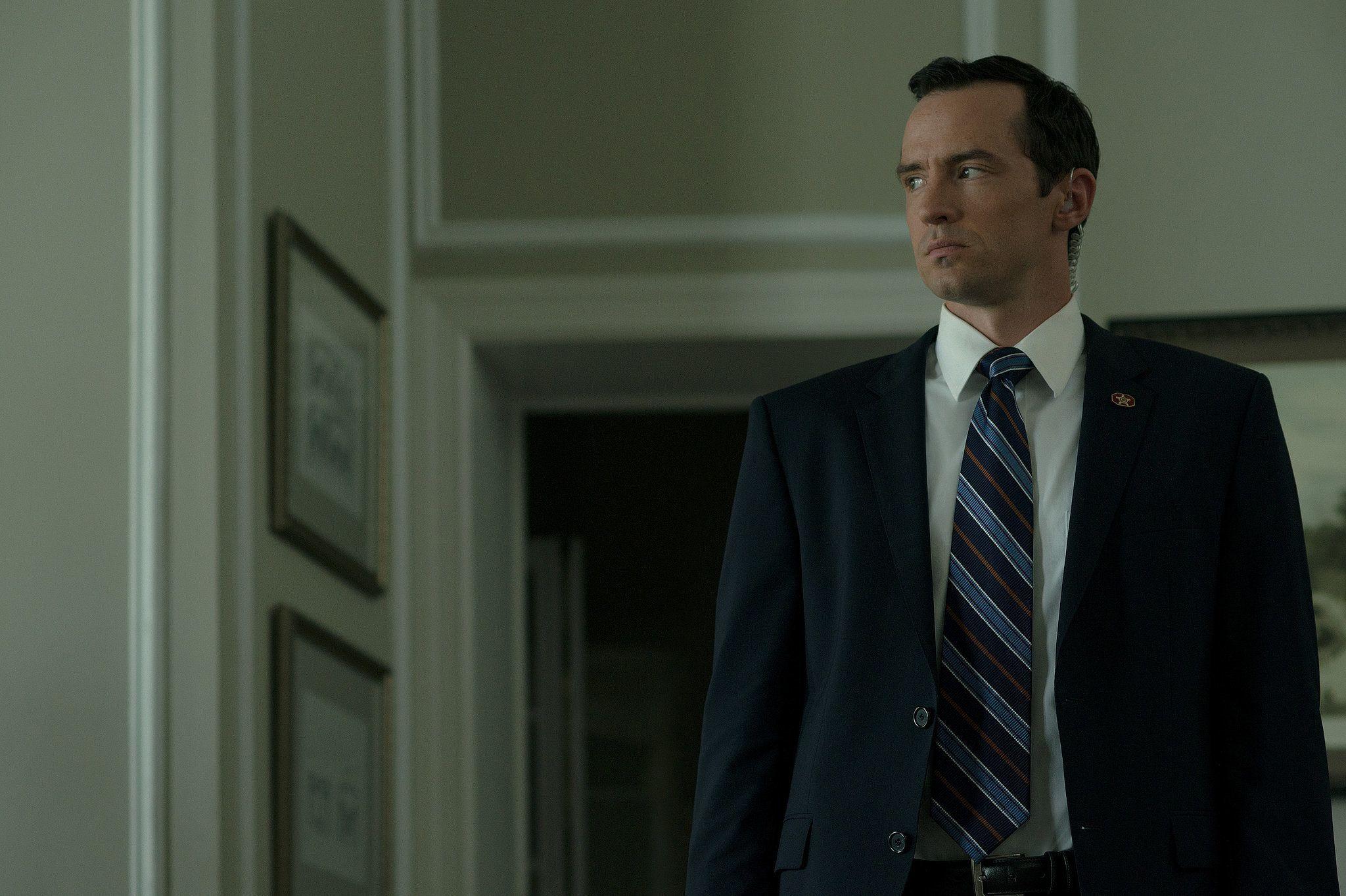 Edward Meechum (Nathan Darrow) On House Of Cards. Source: Netflix He Plays