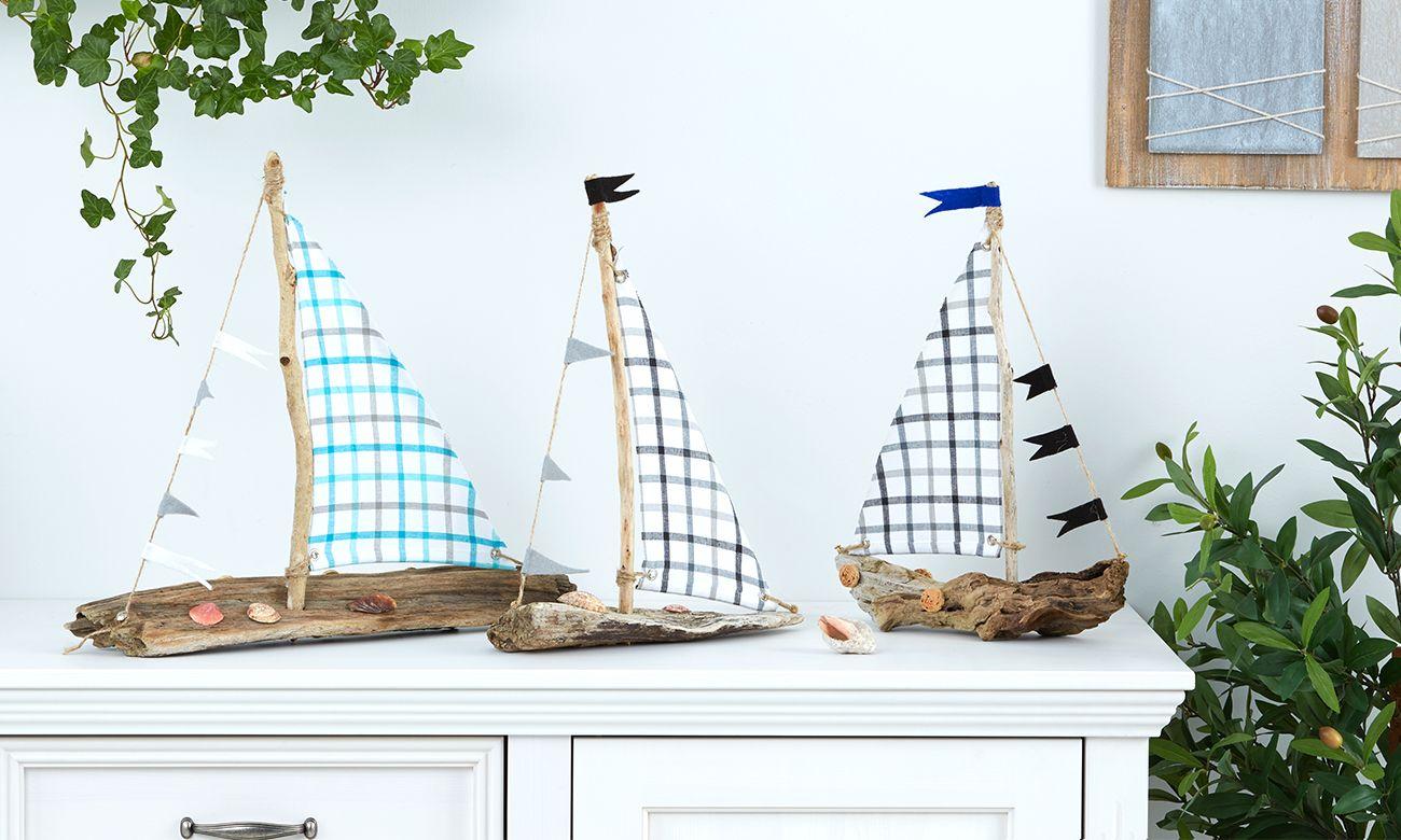 Heute Zeige Ich Euch, Wie Man Segelboote Aus Treibholz Ganz Einfach Selber  Basteln Kann.