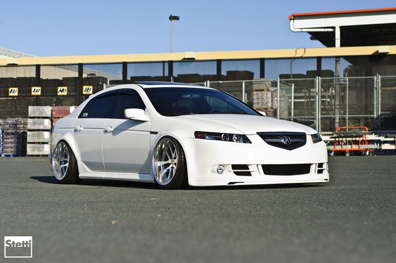 Acura TL on Weds Kranze LXZ wheels  Favorite Cars  Pinterest