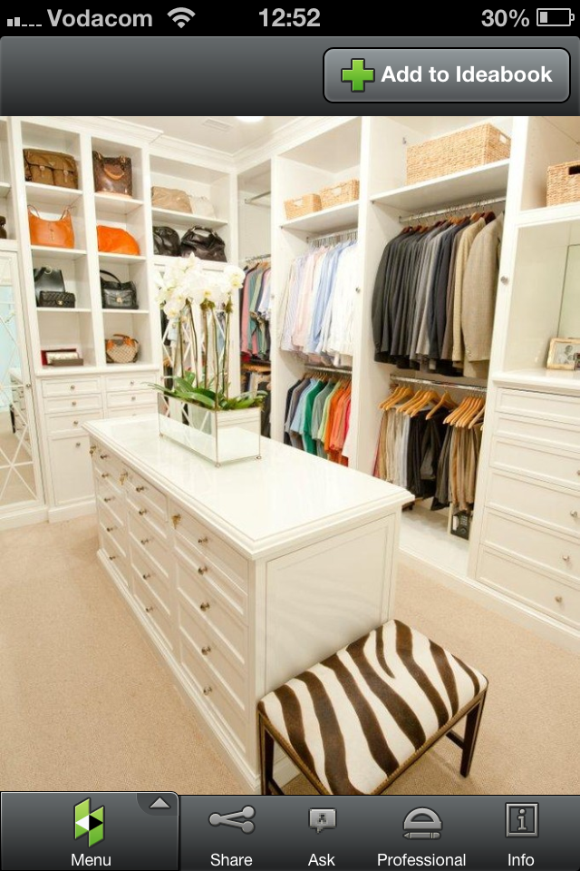 Perfect walk in wardrobe (With images) Closet design