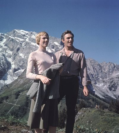 """""""The Sound of Music"""" Julie Andrews and Christopher Plummer 1965 20th"""