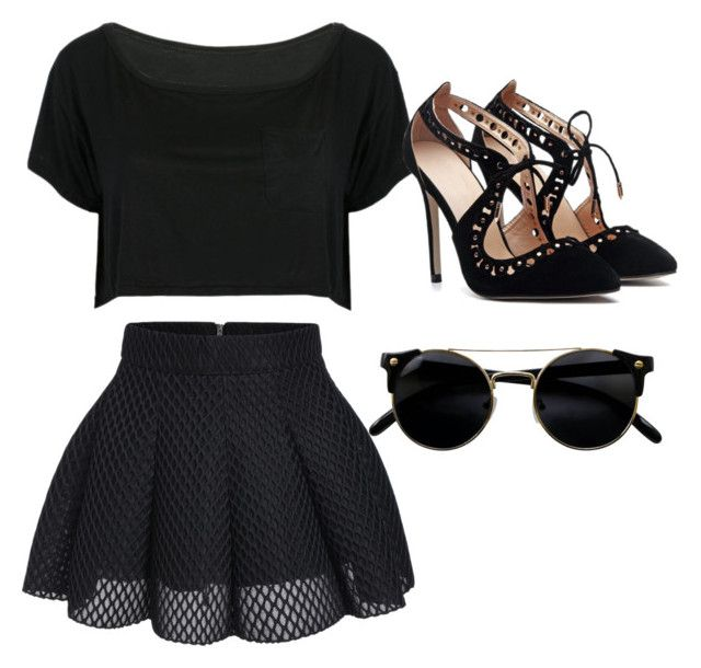 """""""Untitled #1"""" by veniangel ❤ liked on Polyvore featuring WithChic"""