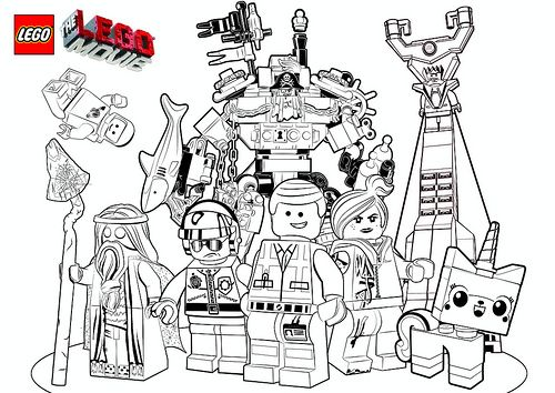 The Lego Movie Coloring Pages By Tormentalous Via Flickr