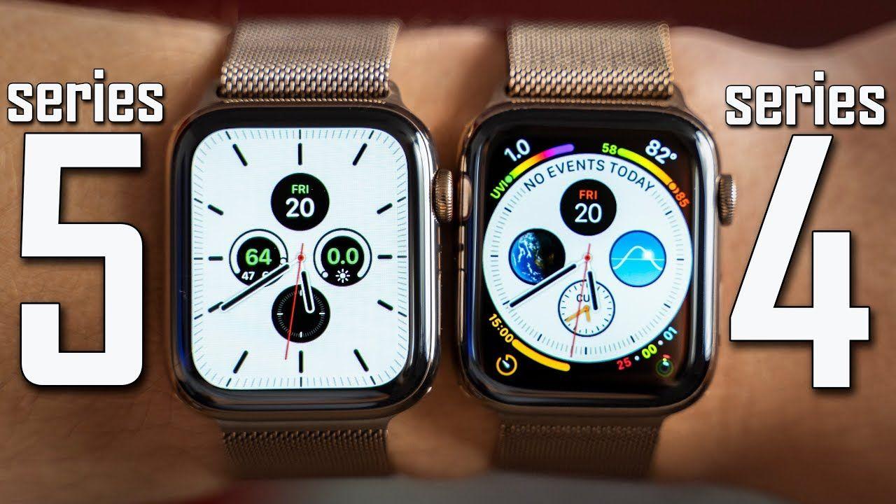 Apple Watch Series 5 vs Series 4 Full Comparison