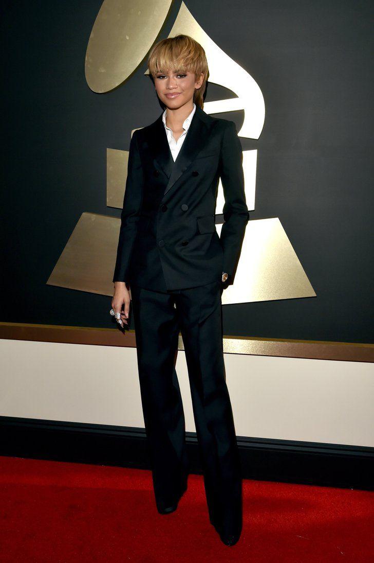 Pin for Later: Seht alle Outfits der Stars bei den Grammy Awards Zendaya