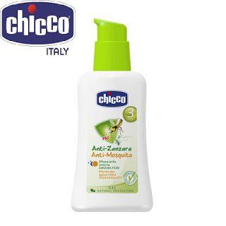 CHỐNG MUỖI CHICCO: Cách lựa chọn kem chống muỗi cho bé