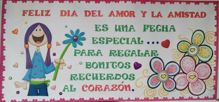 Cartelera Amor Y Amistad Tus Me Gusta De Pinterest Pinterest