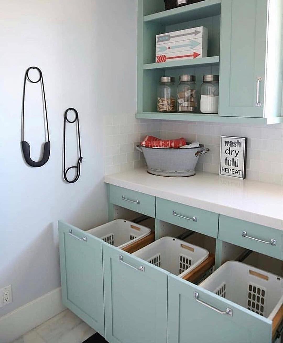 Imagem Por Dini Em Laundry Room Armazenamento Na Lavanderia