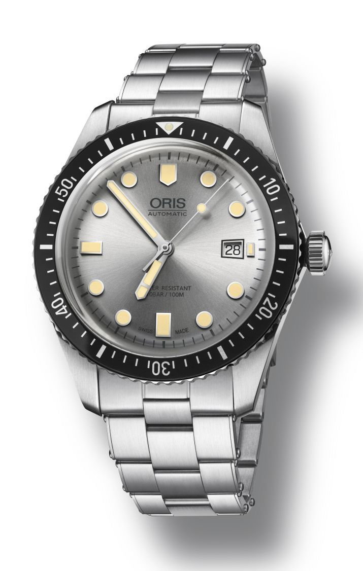 a9c122c2f3d TimeZone   Industry News » N E W M o d e l - Oris Divers Sixty-Five Silver