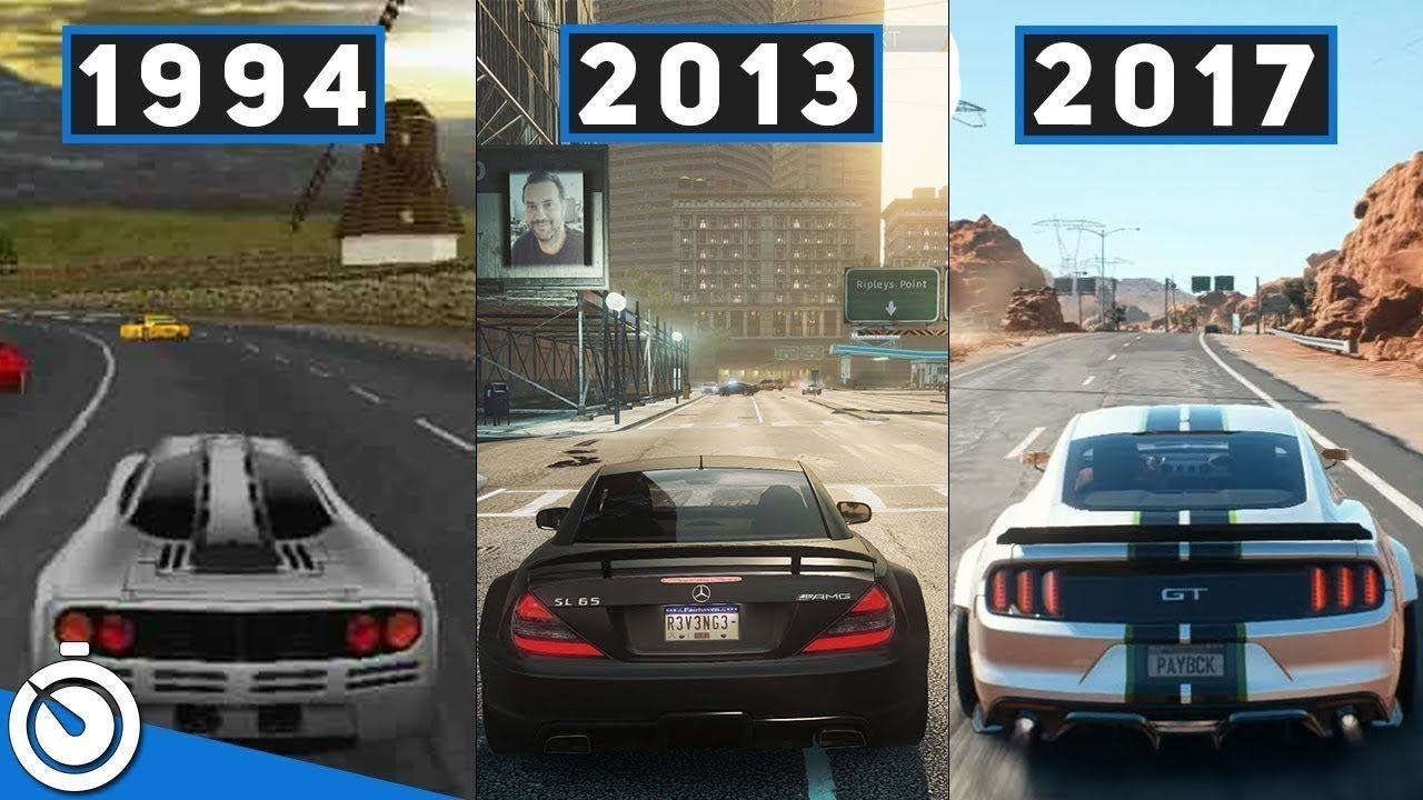 History Evolution Of Need For Speed 1994 2018