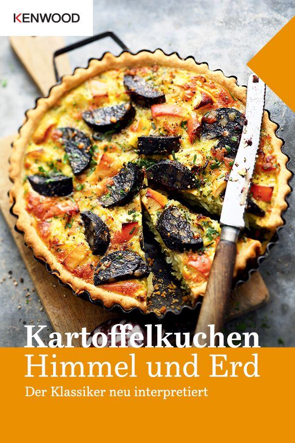 Kartoffelkuchen Himmel Und Erd Kenwood Club Rezept In 2020 Kartoffelkuchen Lebensmittel Essen Rezepte