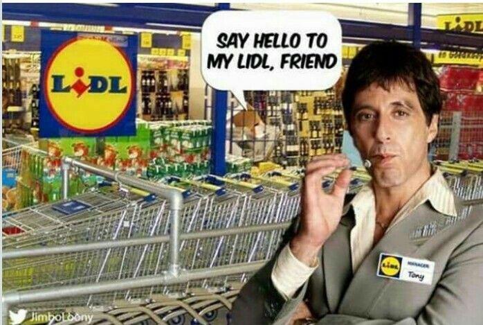 Hahaa Al Pacino Tony Montana LIDL Market | Humor | Humour