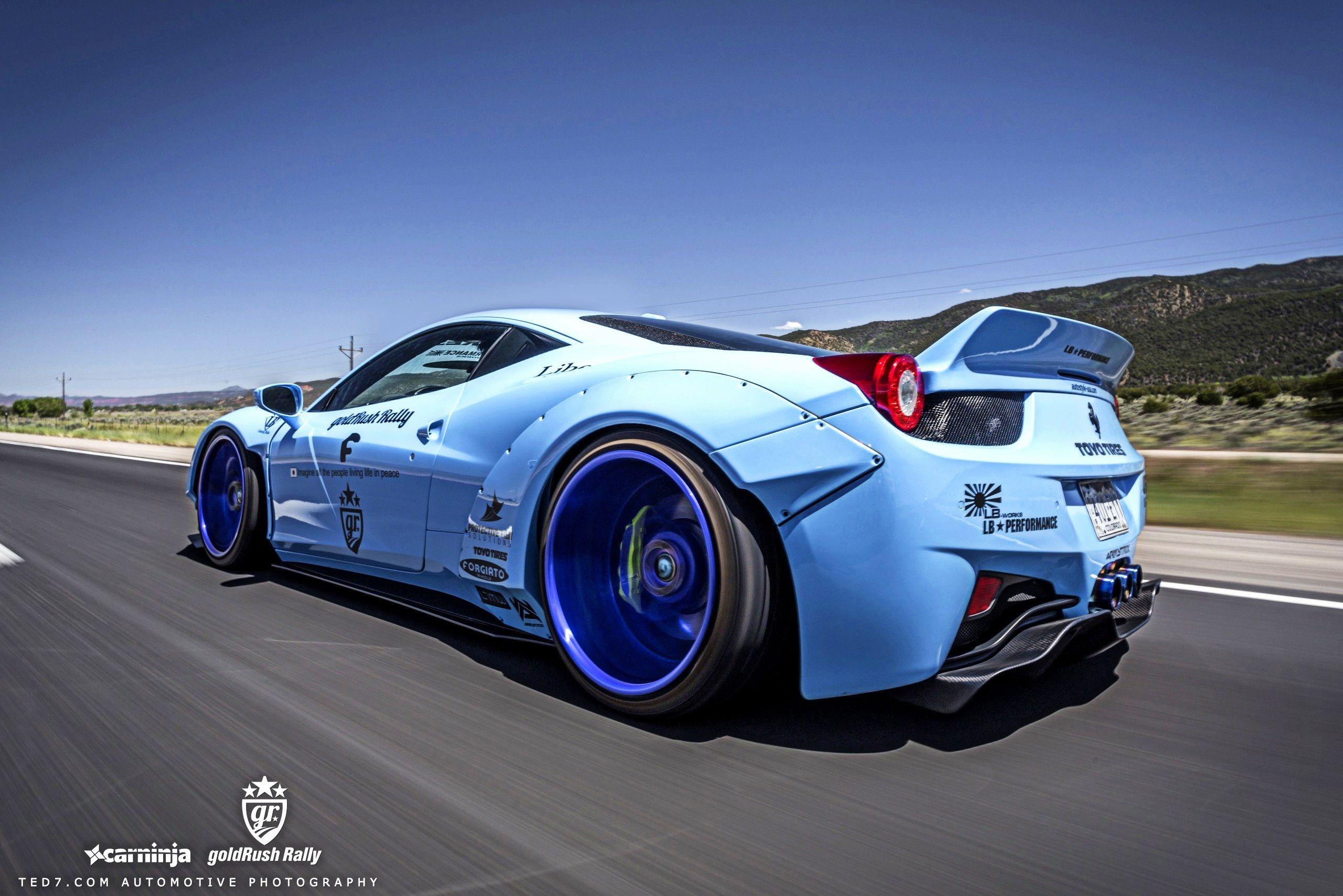 liberty walk ferrari 458 liberty walk 458 wallpapers maybe something for https - Ferrari 458 Blue Wallpaper