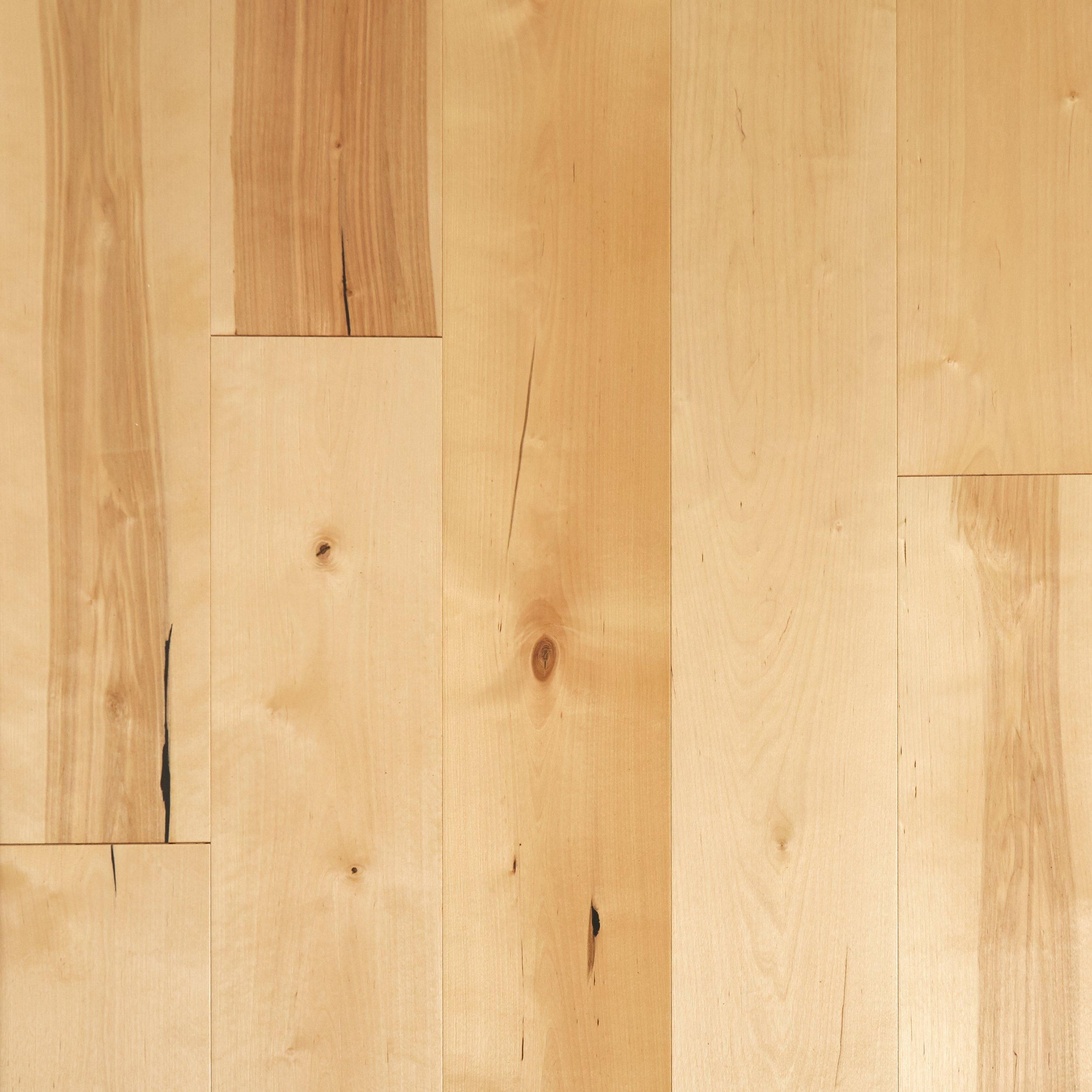 Natural Birch Wire Brushed Engineered Hardwood Products