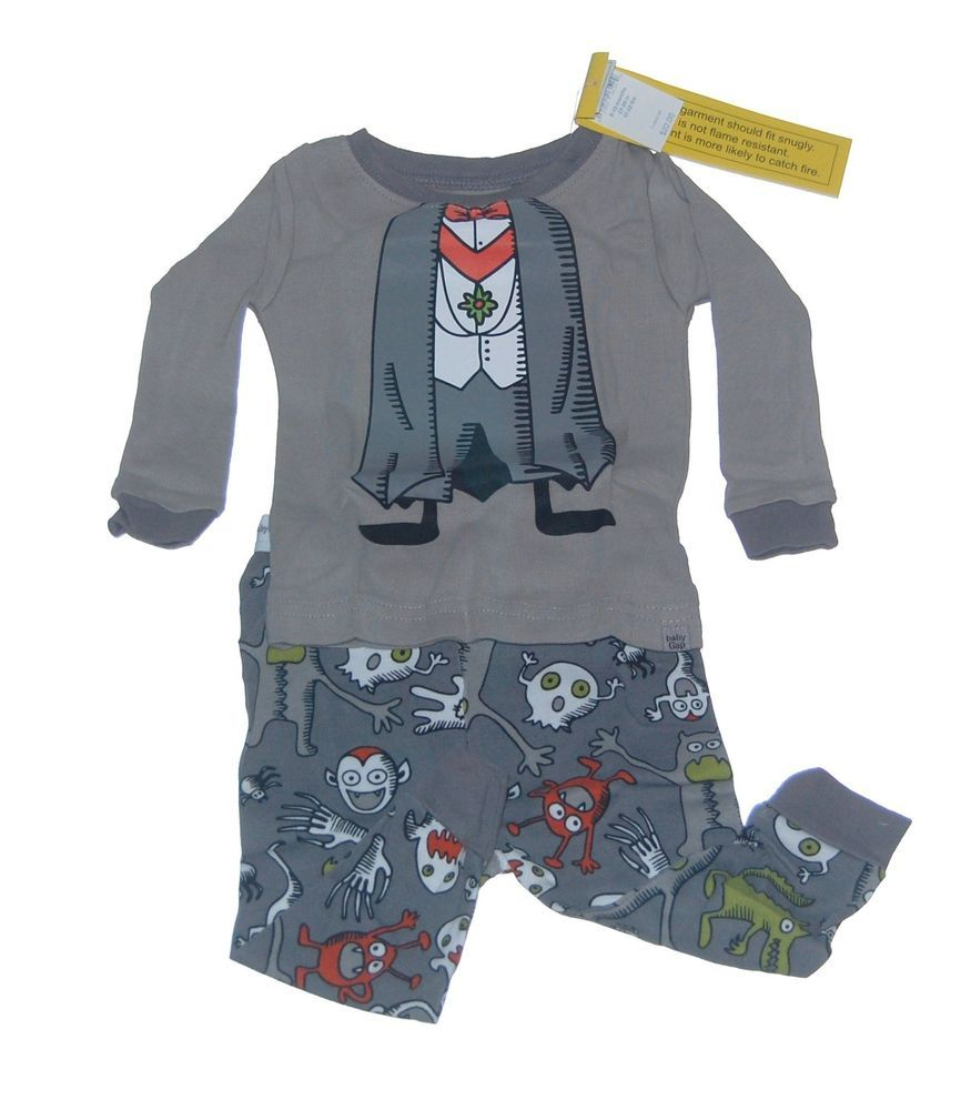 baby gap halloween vampire pajamas 6-12 18-24 nwt new | baby gap