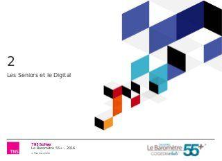 Baromètre 55+ : Les senior et le digital