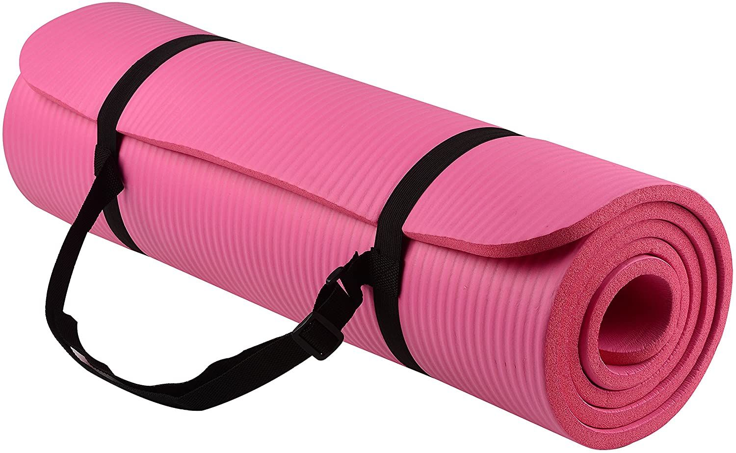 Balancefrom Goyoga All Purpose 1 2 Inch Extra Thick High Density Anti Tear Exercise Yoga Mat With Carrying Strap Price In 2020 Yoga Mats Best Yoga Mat Towel Yoga Mat