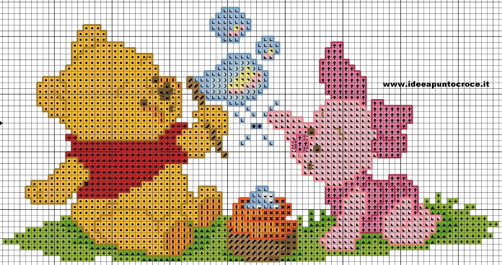 schemi disney a punto croce crafts winnie the pooh pinterest cross stitch stitch and