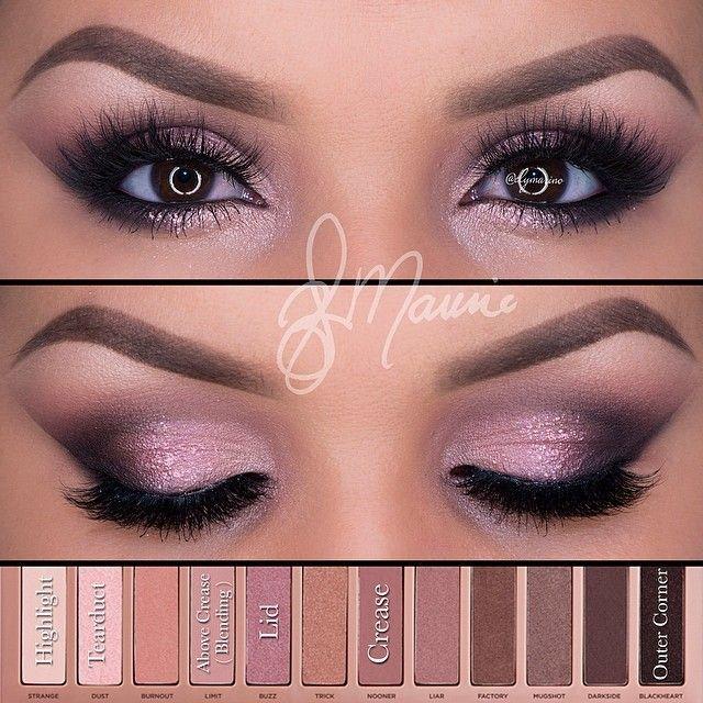 Re: naked 3 palette eye looks