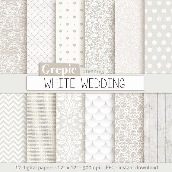 Hochzeit Von Digitalem Papier White Wedding Mit Romantischen White Wedding Bridal Muster Fur Hochzeit Digital Paper Sims 4 Cc Furniture Save The Date Cards