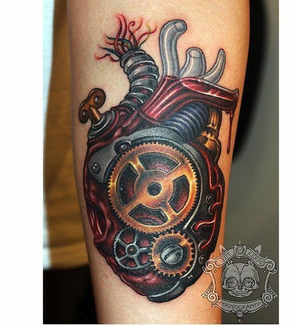 48 Biomechanical Tattoo For Geeks Steampunk Tattoo Biomechanical Tattoo Picture Tattoos