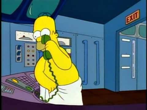 HOMER SIMPSON | Hable más alto, llevo una toalla.