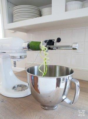 Kitchen Aid Spiral blade attachment
