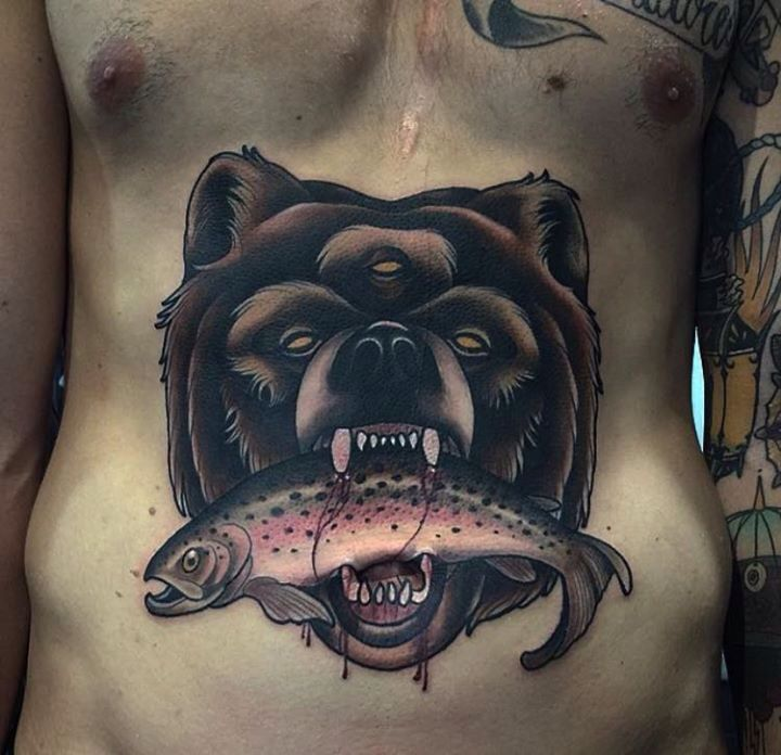 Bear with the third eye