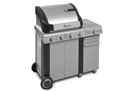 landmann cronos 12774 gasgrill mit seitenbrenner und unterschrank grill grillwagen grillk che. Black Bedroom Furniture Sets. Home Design Ideas